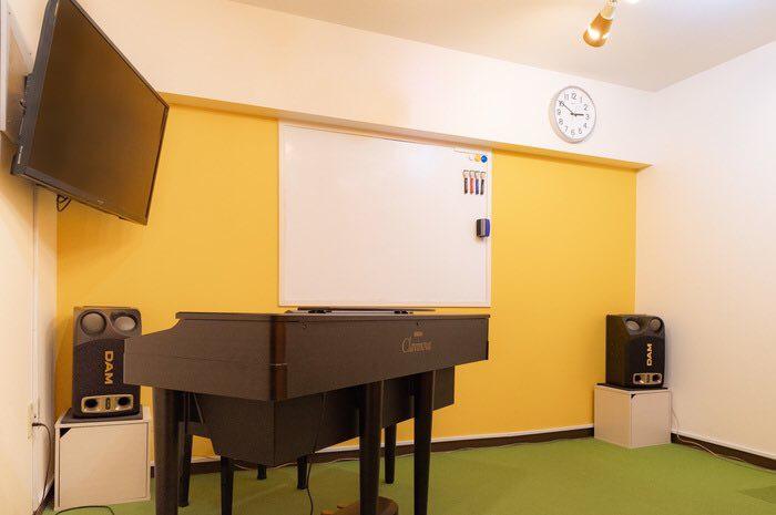 防音で広いスペースの音楽教室